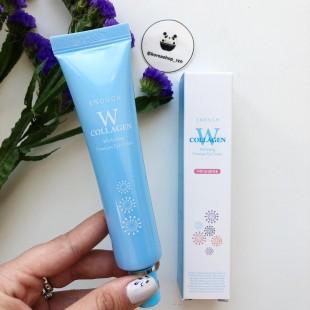 ENOUGH  W Collagen Whitening Premium Eye Cream 30 мл/Крем для глаз с коллагеном
