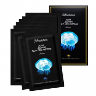 JM Solution Active Jellyfish All In One Ampoule Prime/ Сыворотка 3в1 с экстрактом медузы 2мл
