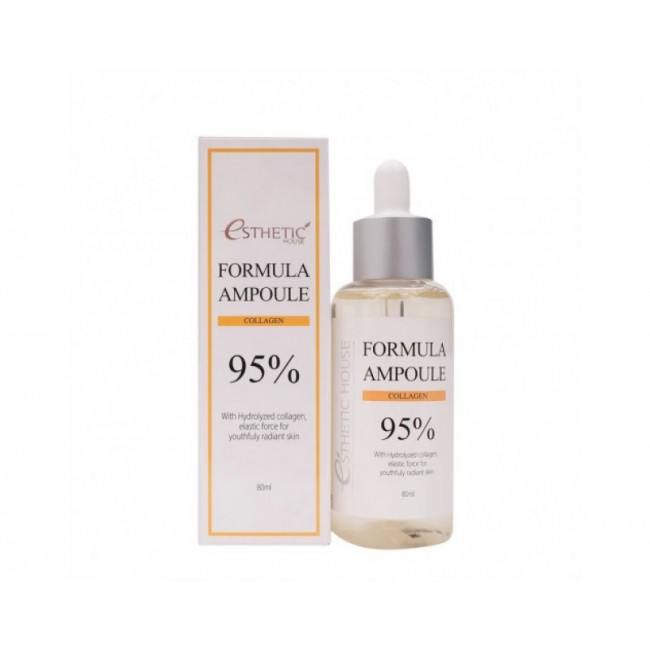 ESTHETIC HOUSE Formula Ampoule Collagen 80ml/Сыворотка для лица с коллагеном