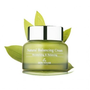 the skin house natural balancing cream/Крем для сухой кожи 50ml