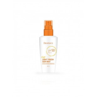 Deoproce Easy Light Fresh Sun Mist SPF 50+/Pa++ Солнцезащитный мист