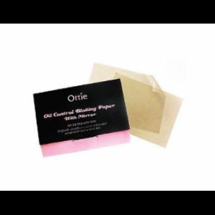 Ottie Oil Control Blotting Paper With Mirror 100 шт МАТИРУЮЩИЕ САЛФЕТКИ С ЗЕРКАЛОМ